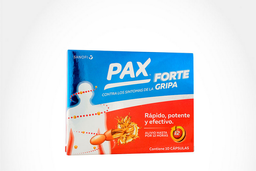 Pax Forte Capsulas X 400Mg X 10Und