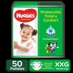 Huggies Pañales Active Sec Etapa 5/xxg 50uds