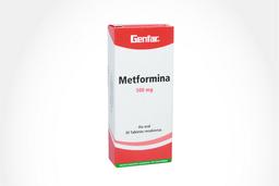 Genfar Metformina 500 Mg 30 Tabletas Gf