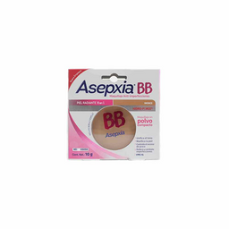 Asepxia Bb Maquillaje Polvo Bronce 10 G