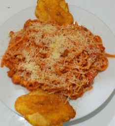 Espaguettis con Camarón