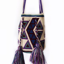 Bolso Wayuu mediano