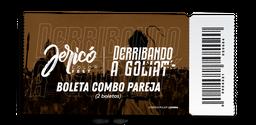 Boleta Jericó Color Fest COMBO PAREJA PRIMERA ETAPA