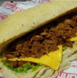 Sándwich de Cerdo Desmechado