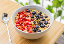 Smoothie Bowl Flan Tommy