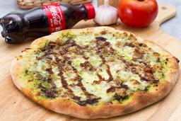 Pizza Pesto + Gaseosa