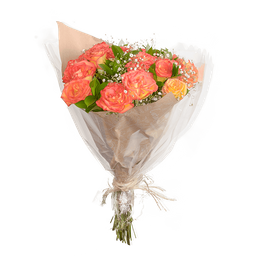 Bouquet de Rosas de Color