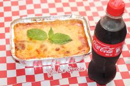 Super Promo Lasagna Bolognesa Coca-Cola 300 ml