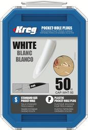 Tapones Plásticos Kreg Blancos 50 U