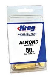 Tapones Plásticos Kreg Almendra 50 U