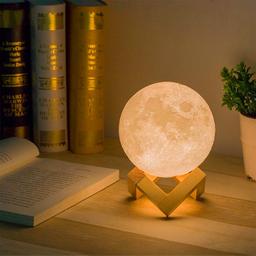 Lámpara luna