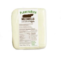 Queso Mozzarella Bloque Leche de  Bufala PlanteaRica
