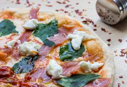 Pizza Prosciutto y Bufala Personal