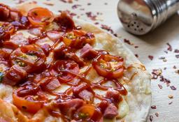 Pizza Costilla Bbq Mediana
