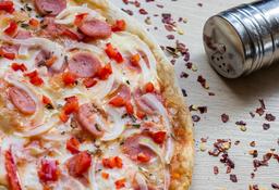 Pizza Salchicha Benedicta Mediana