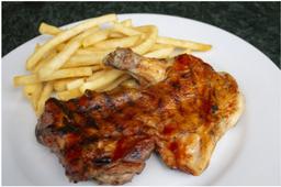 Pollo BBQ + Acompañamiento