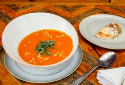 Media Sopa y Empanada