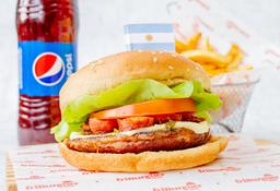 Hamburguesa Argentina en Combo