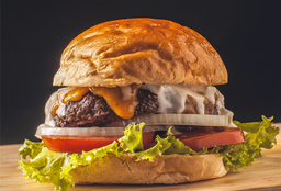 Blue Cheeseburger