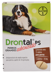 Drontal Ps Perros Grandes  En Tableta