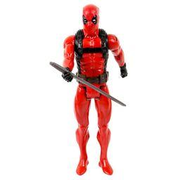 Figura Hasbro  Deadpool Marvel-Rojo y Negro