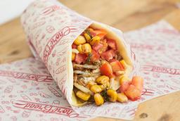 Rellenito Chicken Style + papitas premium