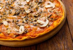 Pizza Champiñon y Queso