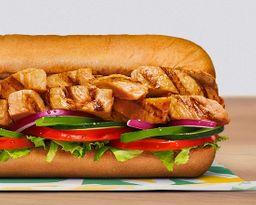 Sándwich Pollo Estilo Teriyaki 15 cm