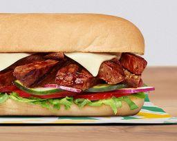 Sándwich Carne BBQ 15 cm
