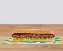 Sándwich Costillas BBQ Melt 30 cm