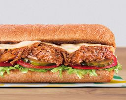 Sándwich Cerdo BBQ 30 cm