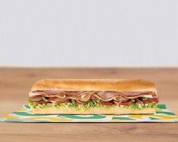 Sándwich Pavo y Jamón 30 cm