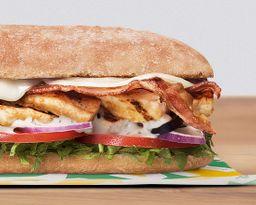 Sándwich Ciabatta Chicken & Bacon Ranch