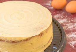 Torta de Limón y Coco Entera