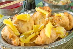 Agridulce Apanados de Cerdo y Pollo