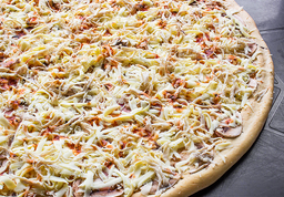 Pizza Familiar Extragrande Pollo con Champiñones 50 cm