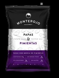 Papas Monterojo Mezcla Pimienta 115Gr
