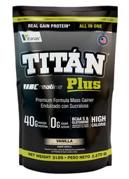 Proteína Titan Plus Sabor Vainilla 5 Lb