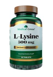 Suplemento Dietético L Lysine 60 Tabletas