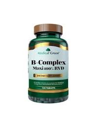 Suplemento Dietético B Complex Maxi 100% RVD 100 Tabletas