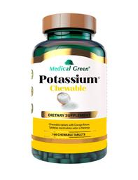 Suplemento Dietético Potasium Masticable Naranja 100 Tabletas
