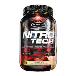Fórmula Muscletech Nitro Tech Performance Series Vainilla 2 Lb