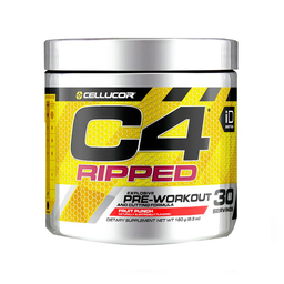 Fórmula Cellucor C-4 Ripped Tropical Punch 180 g