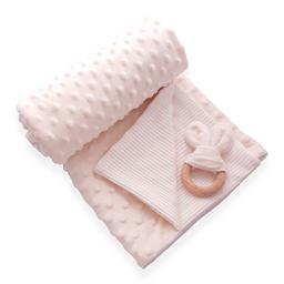 Manta cobija térmica baby wrap beige para bebé
