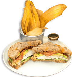 Sándwich de Pavo + Agua Manantial