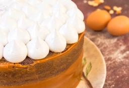 Torta de Choconueces y Arequipe