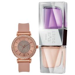 Set Reloj Kate + Avon Eve Duet