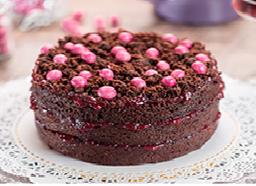 Torta de Chocolate y Mora 15 Porciones