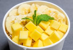 Parfait de frutos amarillos