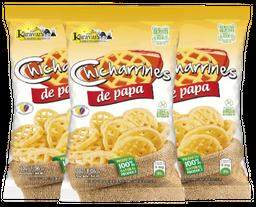 Chicharrines de Papa Karavansay Paquete x 3